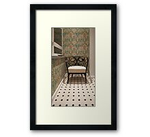 smoking room Framed Print