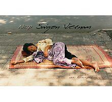 Vietnam Nap © Vicki Ferrari Photography Photographic Print