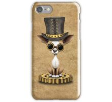 Cute Steampunk Chihuahua Puppy Dog iPhone Case/Skin