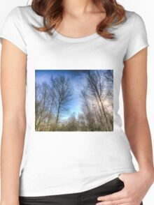 Through The Trees Women's Fitted Scoop T-Shirt