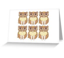 Sextuplet Dogs Greeting Card