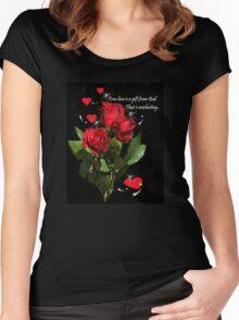 True Love... Women's Fitted Scoop T-Shirt