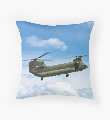 Boeing Chinook HC2 Throw Pillow