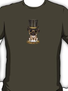 Cute Steampunk Pug Puppy Dog T-Shirt