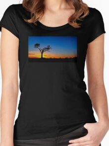 Zip-A-Tree-Doo-Dah Women's Fitted Scoop T-Shirt