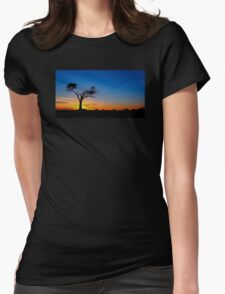 Zip-A-Tree-Doo-Dah Womens Fitted T-Shirt