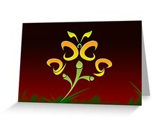 2009 will flutter by... Greeting Card