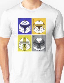 Chibi Clone Helmets Unisex T-Shirt
