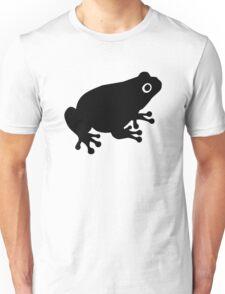 Black toad frog Unisex T-Shirt
