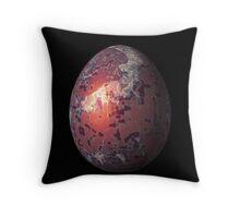 Psychadelic Easter Egg 4 Throw Pillow