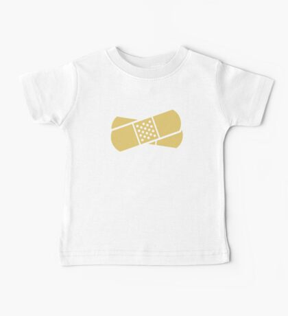 Crossed band-aids Baby Tee