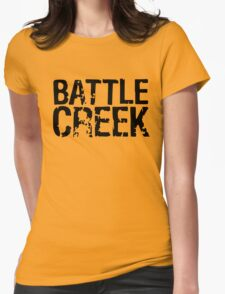 Battle Creek Womens Fitted T-Shirt