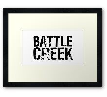 Battle Creek Framed Print