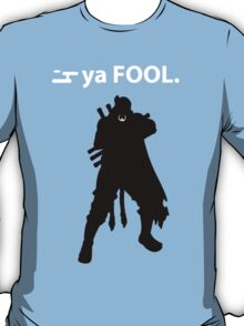 Naruto - Killer B Ya Fool T-Shirt