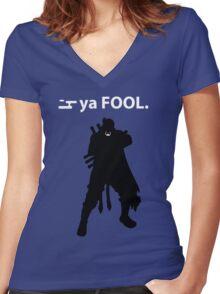 Naruto - Killer B Ya Fool Women's Fitted V-Neck T-Shirt