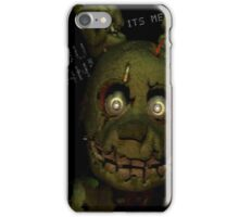 Springtrap-FNAF3 Phone Case iPhone Case/Skin