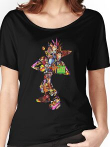 Crash Bandicoot  Women's Relaxed Fit T-Shirt