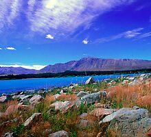 Lake Tekapo New Zealand by Aneurysm