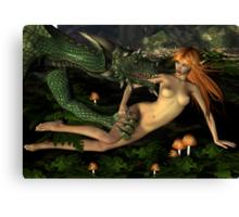 The Bounty Hunters Dragon Canvas Print
