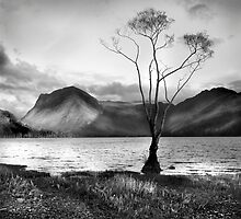 Buttermere and Fleetwith Pike by maria burton