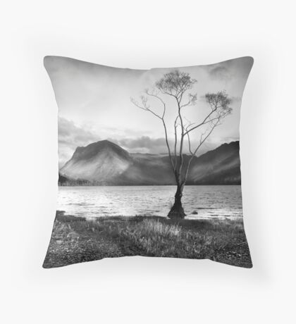 Buttermere and Fleetwith Pike Throw Pillow