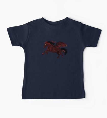 Thestral #Red Baby Tee