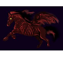 Thestral #Red Photographic Print