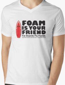Foam is your friend Mens V-Neck T-Shirt