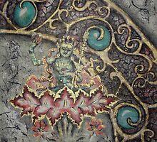 Guru in Lotus by Tilly Campbell-Allen