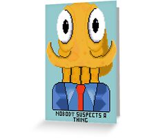 Octodad Greeting Card