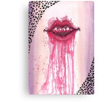 Kissy Face Canvas Print