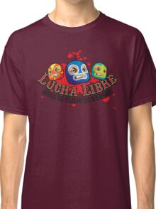 Mexican Wrestlers... Watch the blood flow Classic T-Shirt