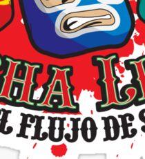 Mexican Wrestlers... Watch the blood flow Sticker