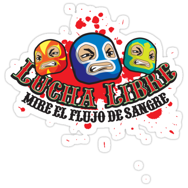 Mexican Wrestlers... Watch the blood flow by Rob Stephens