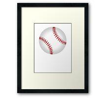 Baseball 1 Framed Print