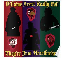 OUAT Villains Aren't Really Evil, They're Just Heartbroken Poster
