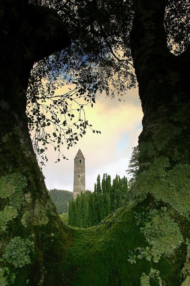 Glendalough view by John Quinn