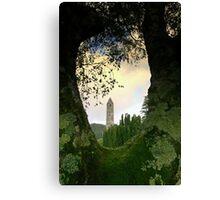 Glendalough view Canvas Print