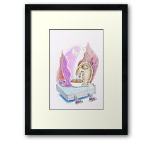 Smelling the Taste Framed Print