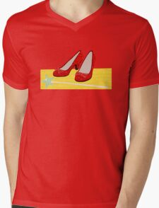 Ruby Slippers Mens V-Neck T-Shirt
