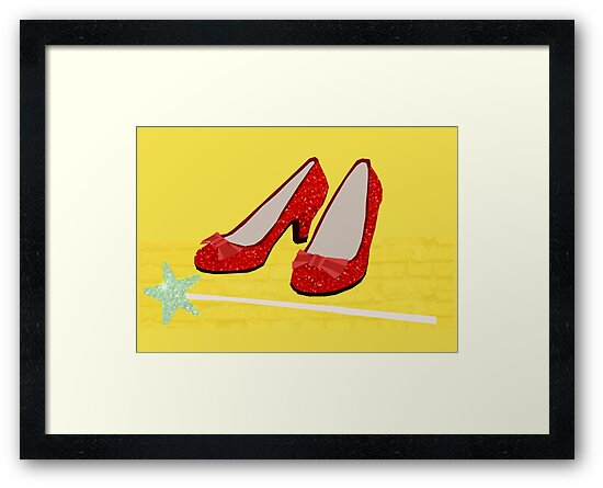 Ruby Slippers by slaterkerry