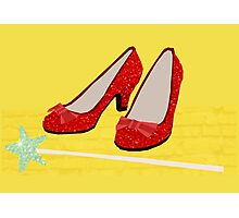 Ruby Slippers Photographic Print