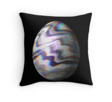Psychadelic Easter Egg 7 Throw Pillow