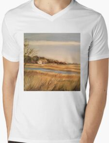 Captain Charlie's Boat House Mens V-Neck T-Shirt