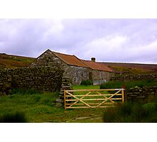 Old Barns Photographic Print
