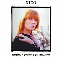Nico - Reims Cathedral Front by SUPERPOPSTORE