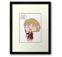 tiny Bilbo Framed Print