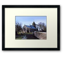 St Mary's Church-Raskelf,North Yorkshire  Framed Print
