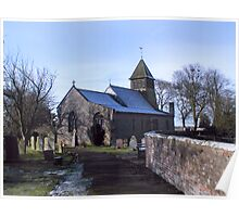St Mary's Church-Raskelf,North Yorkshire  Poster