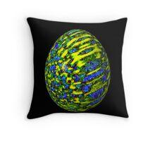 Psychadelic Easter Egg 8 Throw Pillow